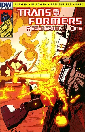 Transformers Regeneration One #86 Incentive Geoff Senior Variant Cover