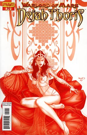 Warlord Of Mars Dejah Thoris #19 Incentive Paul Renaud Martian Red Cover