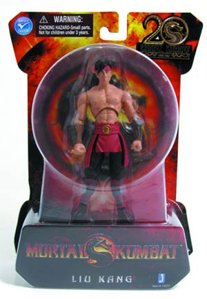 Mortal Kombat 9 Liu Kang 4-Inch Action Figure