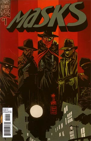 Masks #1 Regular Francesco Francavilla Cover