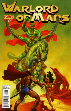 Warlord Of Mars #22 Regular Joe Jusko Cover