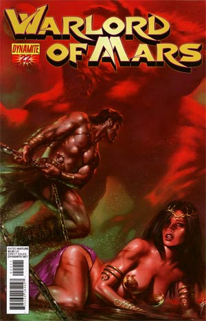 Warlord Of Mars #22 Regular Lucio Parrillo Cover