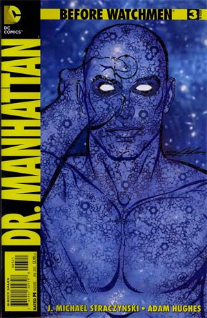 Before Watchmen Dr Manhattan #3 Incentive Neal Adams Variant Cover