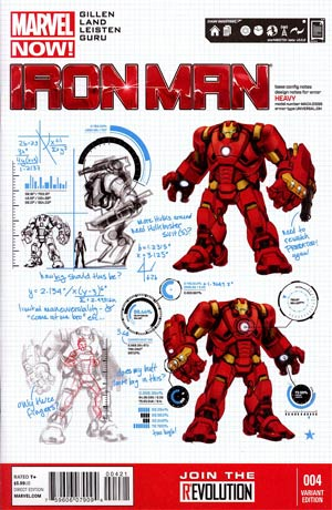 Iron Man Vol 5 #4 Incentive Carlo Pagulayan Design Variant Cover