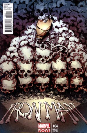 Iron Man Vol 5 #4 Incentive Mike Deodato Jr Variant Cover