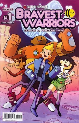 Bravest Warriors #1 3rd Ptg