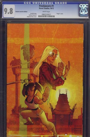 Freelancers #1 Incentive Stephane Roux Virgin Variant Cover CGC 9.8