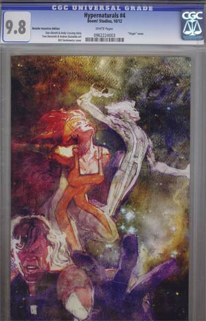 Hypernaturals #4 Incentive Bill Sienkiewicz Virgin Variant Cover CGC 9.8