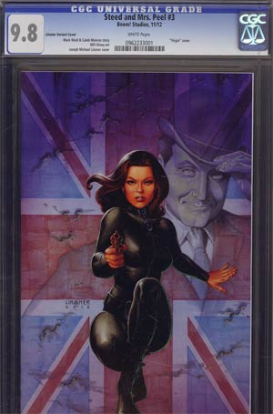 Steed And Mrs Peel Vol 2 #3 Incentive Joseph Michael Linsner Virgin Variant Cover CGC 9.8