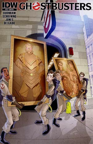 Ghostbusters #16 Incentive Chris Madden Variant Cover