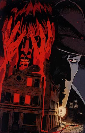 Sherlock Holmes Liverpool Demon #1 Incentive Francesco Francavilla Virgin Cover