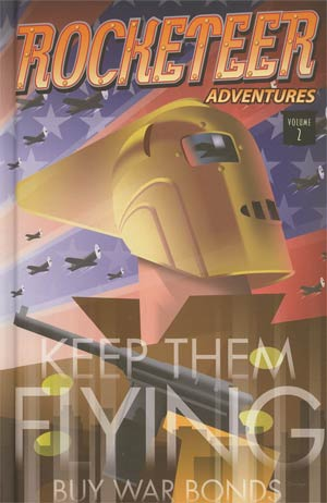 Rocketeer Adventures Vol 2 HC Book Market Edition