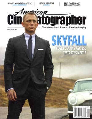 American Cinematographer Vol 93 #12 Dec 2012