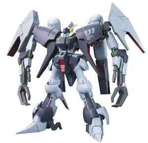 Gundam Model Kit Action Figure High Grade Universal Century 1/144 Scale #147 RX-16OS Byarlant Custom E.F.F. Prototype Mobile Suit