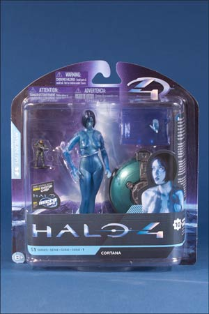 Halo 4 Series 1 Extended Edition Cortana Action Figure