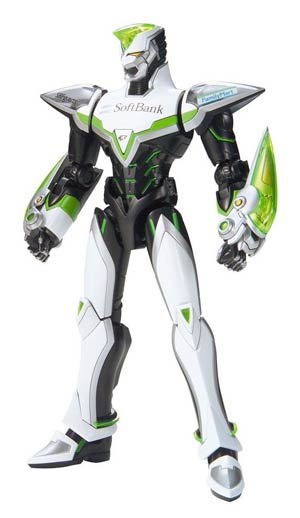 Tiger & Bunny Model Kit Action Figure Master Grade Figure-Rise 6 - Wild Tiger