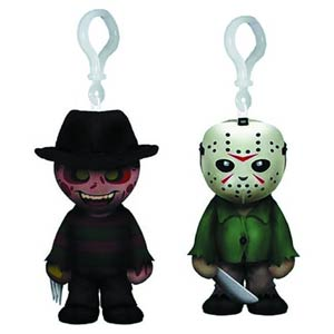 Jason & Freddy 4-Inch Plush Clip-On - Jason