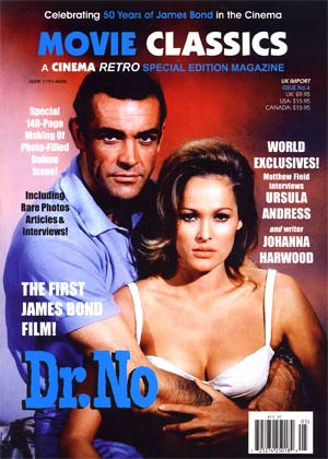 Cinema Retro Movie Classics #5 Dr No Special 2012