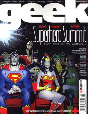 Geek Magazine Vol 1 #4 Dec 2012