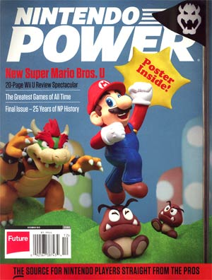 Nintendo Power #285 Dec 2012