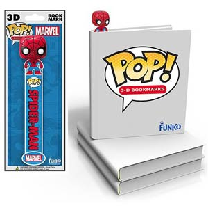 Spider-Man 3D POP Bookmark