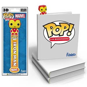 Iron Man 3D POP Bookmark