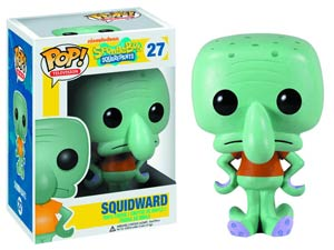 POP Television 27 SpongeBob SquarePants Squidward Vinyl Figure