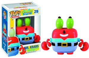 POP Television 29 SpongeBob SquarePants Mr Krabs Vinyl Figure