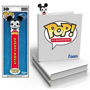 Mickey Mouse 3D POP Bookmark