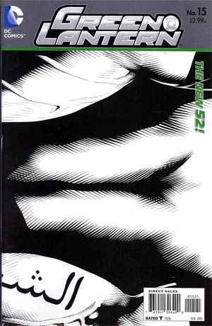 Green Lantern Vol 5 #15 Incentive Doug Mahnke Sketch Cover (Rise Of The Third Army Tie-In)