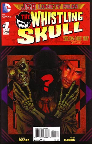 JSA The Liberty Files The Whistling Skull #1 Incentive Tony Harris Variant Cover