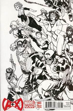 A Plus X #3 Incentive Ed McGuinness Sketch Cover