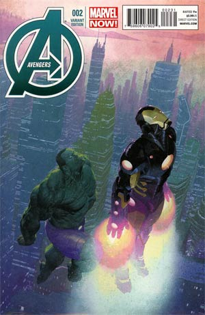 Avengers Vol 5 #2 Incentive Esad Ribic Variant Cover