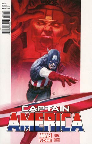 Captain America Vol 7 #2 Incentive Variant Cover
