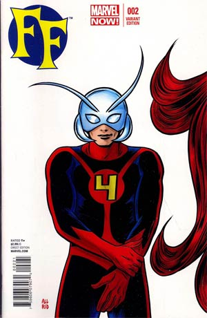 FF Vol 2 #2 Incentive Mike Allred Variant Cover
