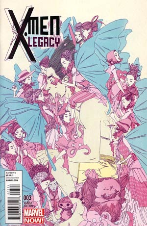 X-Men Legacy Vol 2 #3 Incentive Variant Cover