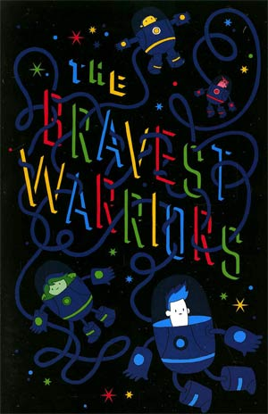Bravest Warriors #3 Incentive John Martz Virgin Variant Cover