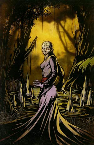 Clive Barkers Hellraiser Road Below #3 Incentive Retro Outlaw Studios Virgin Variant Cover