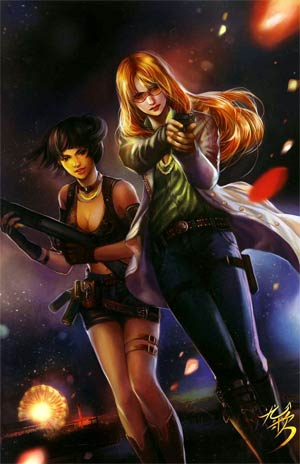 Freelancers #2 Incentive Fan Yang Virgin Variant Cover