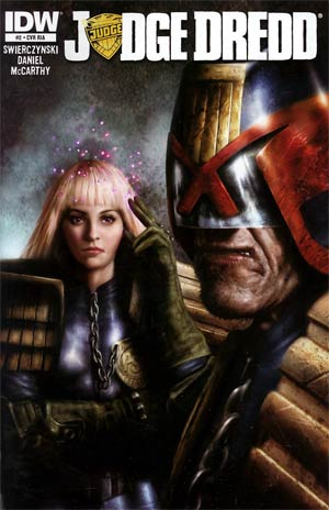 Judge Dredd Vol 4 #2 Incentive Nick Percival Variant Cover