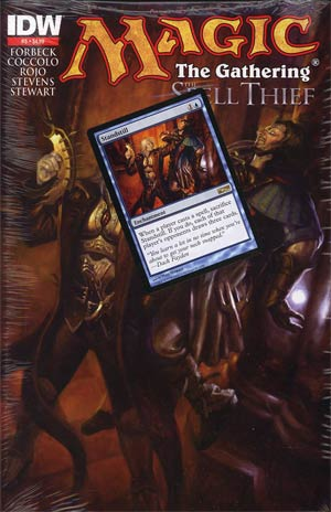 Magic The Gathering Spell Thief #3 2nd Ptg
