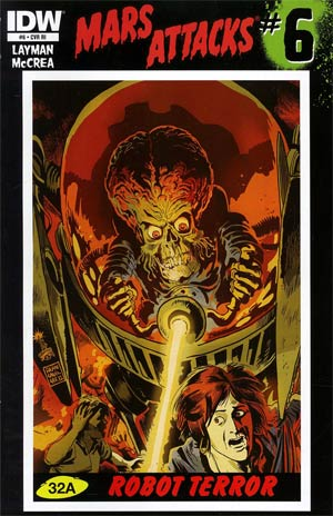 Mars Attacks Vol 3 #6 Incentive Francesco Francavilla Variant Cover