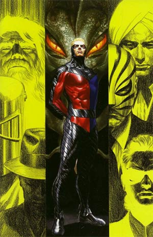 Peter Cannon Thunderbolt Vol 2 #4 Incentive Alex Ross Virgin Cover