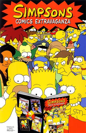 Simpsons Comics Vol 1 Extravaganza TP New Printing
