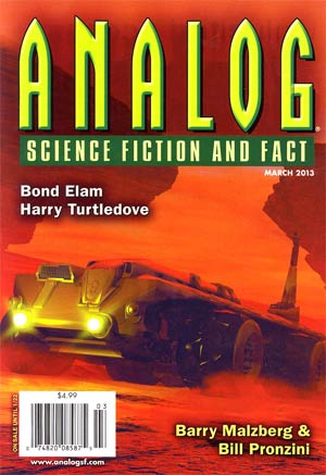Analog Science Fiction And Fact Vol 133 #3 Mar 2013