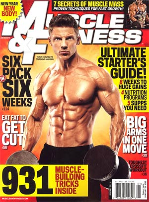 Muscle & Fitness Magazine Vol 74 #1 Jan 2013