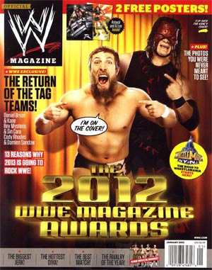 WWE Magazine #84 Jan 2013