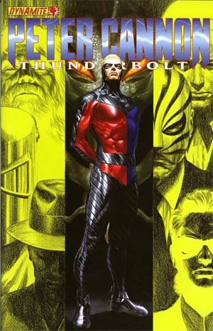 Peter Cannon Thunderbolt Vol 2 #4 Regular Alex Ross Cover