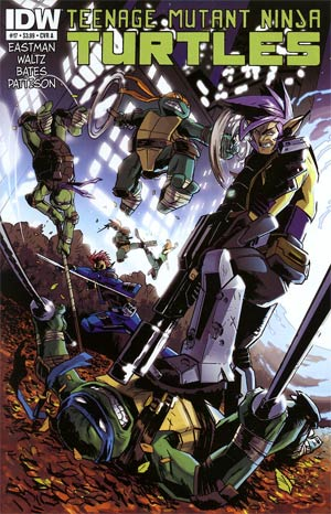 Teenage Mutant Ninja Turtles Vol 5 #17 Regular Cover A Ben Bates