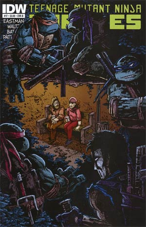 Teenage Mutant Ninja Turtles Vol 5 #17 Regular Cover B Kevin Eastman